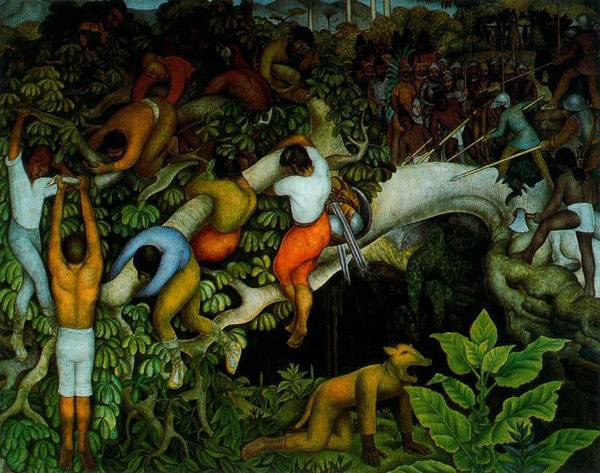 painters of Latin America Diego Rivera