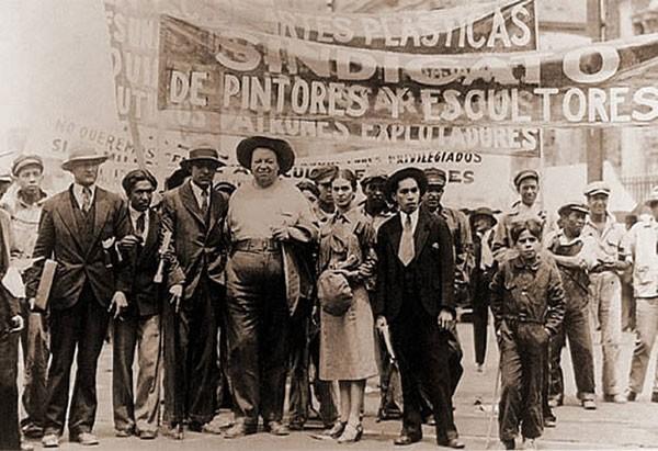 Митинг в Мексике