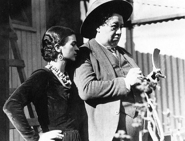 1930. Кало и Ривера