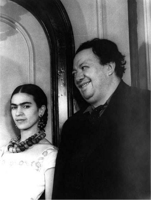 1932 - with Diego Rivera - Carl Van Vechten