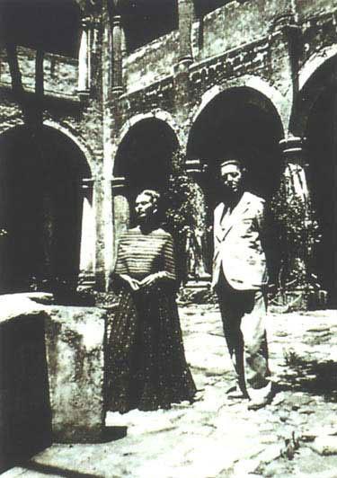 1938 -  с Андре Бретоном