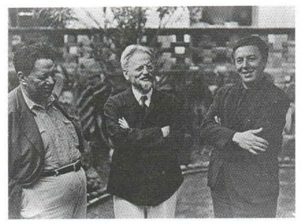 1938 -  Ривера - Троцкий - Бретон