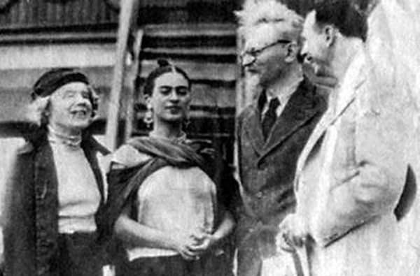 1940 - Frida et Trotski - Mexico