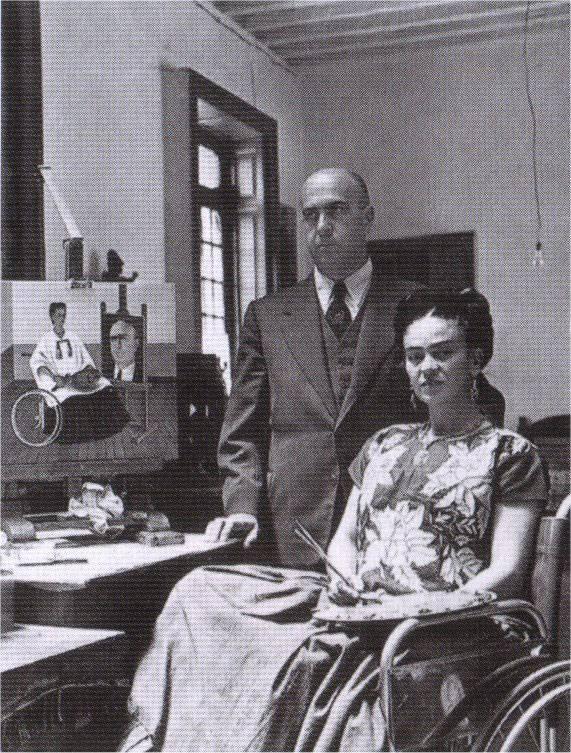 1951 - avec le Dr Farill