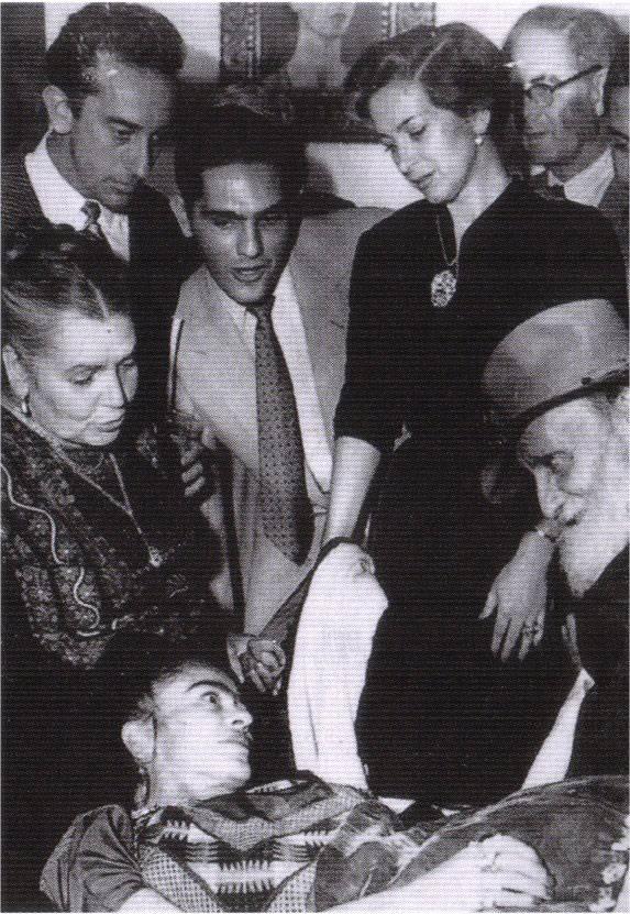 1953 - inauguration exposition Galeria de Arte Contemporanen( последняя выставка)