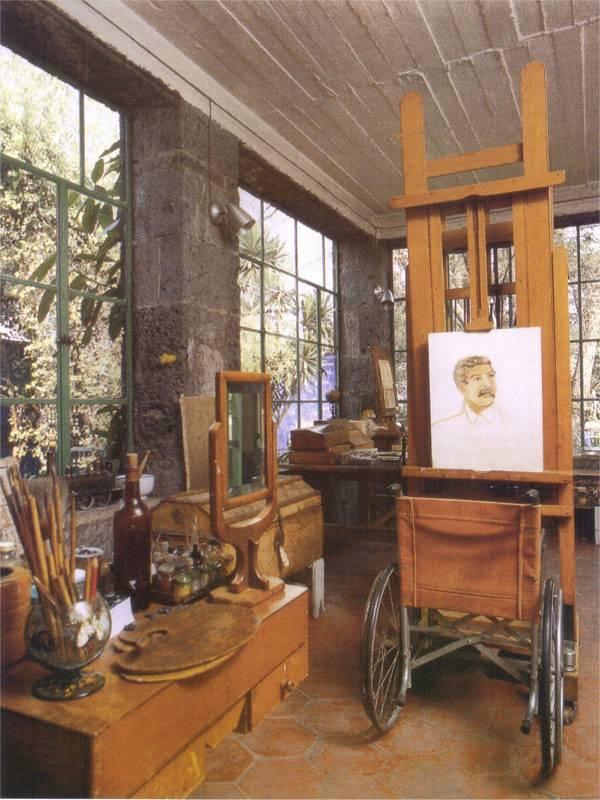Atelier de Frida Kahlo