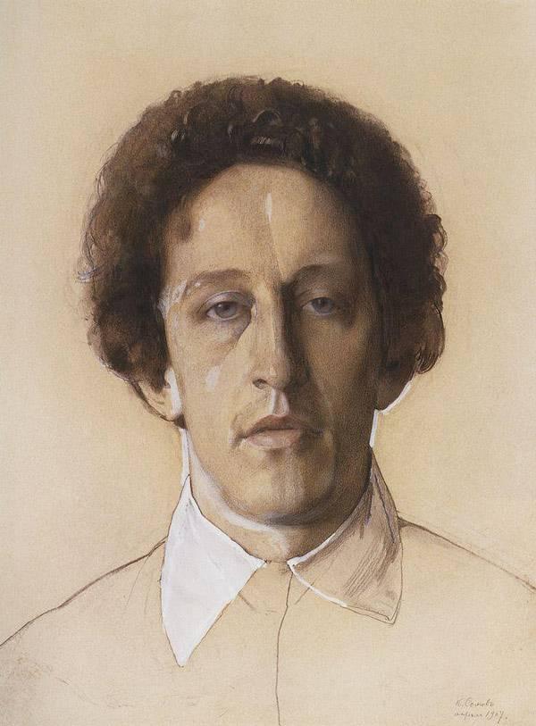 Портрет А.А.Блока. 1907