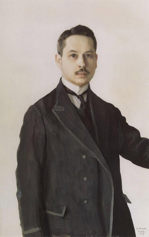 Автопортрет. 1909 Константин Сомов