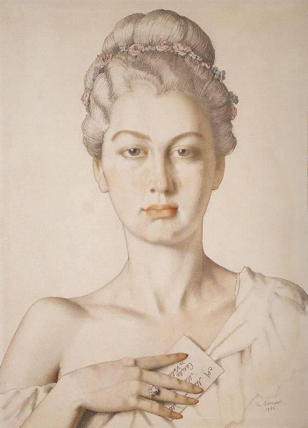 Сесиль де Воланж. 1934