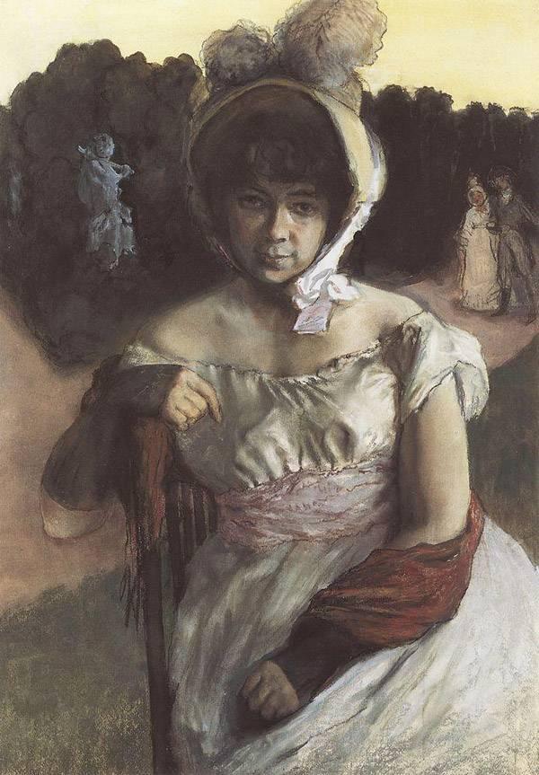 Портрет А.К.Бенуа. 1896