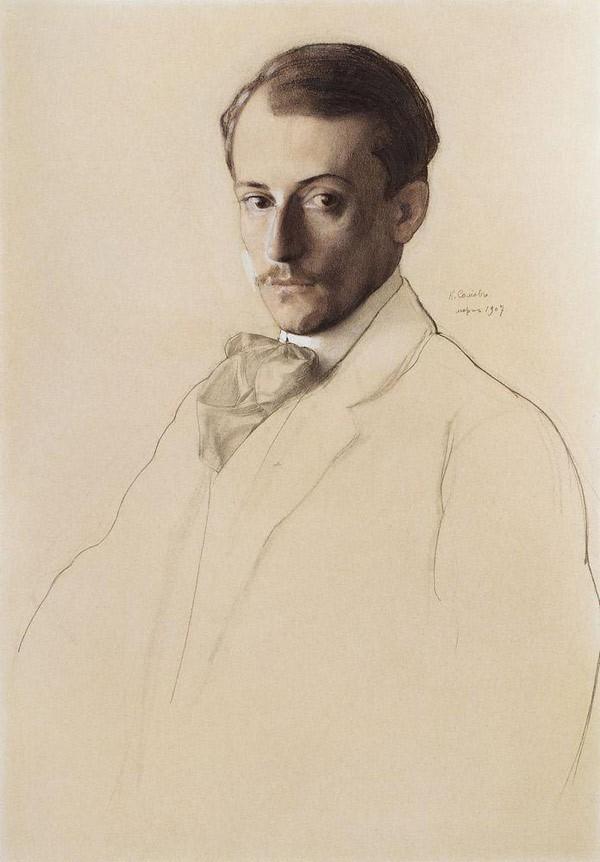 Портрет Е.Е.Лансере. 1907