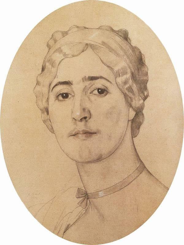 Портрет Д.Г.Карышевой. 1914