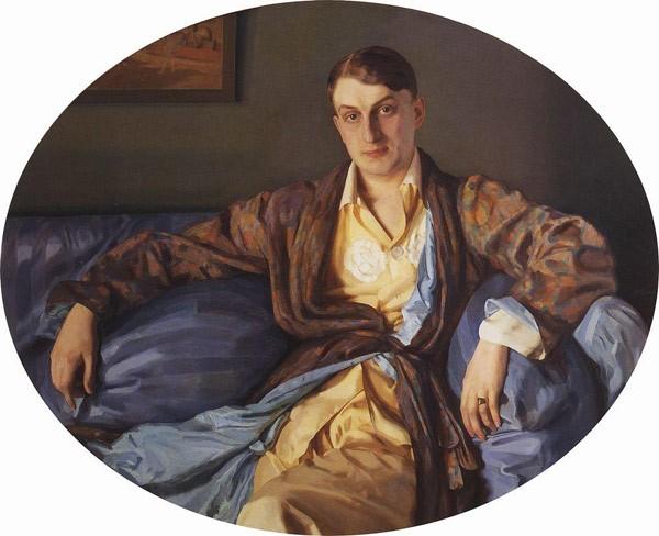 Портрет М.Г.Лукьянова. 1918