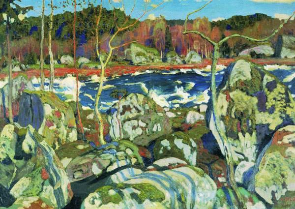 Весна в Финляндии. 1905