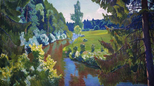 В зеленых берегах. 1938