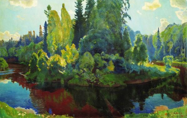 На природе. 1933