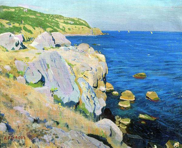 Скалы в Кекенеизе. 1909