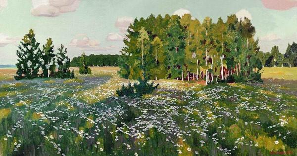 Цветистый луг. 1916