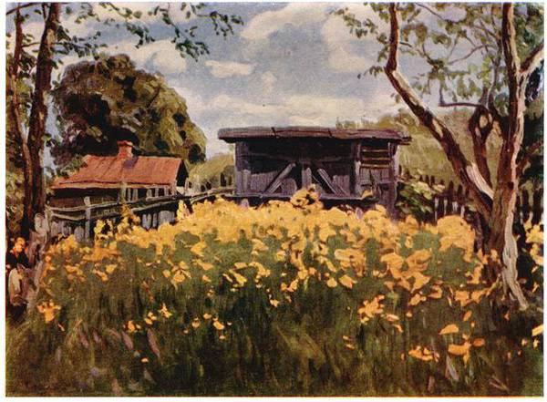 Весенние цветы. 1929 г.