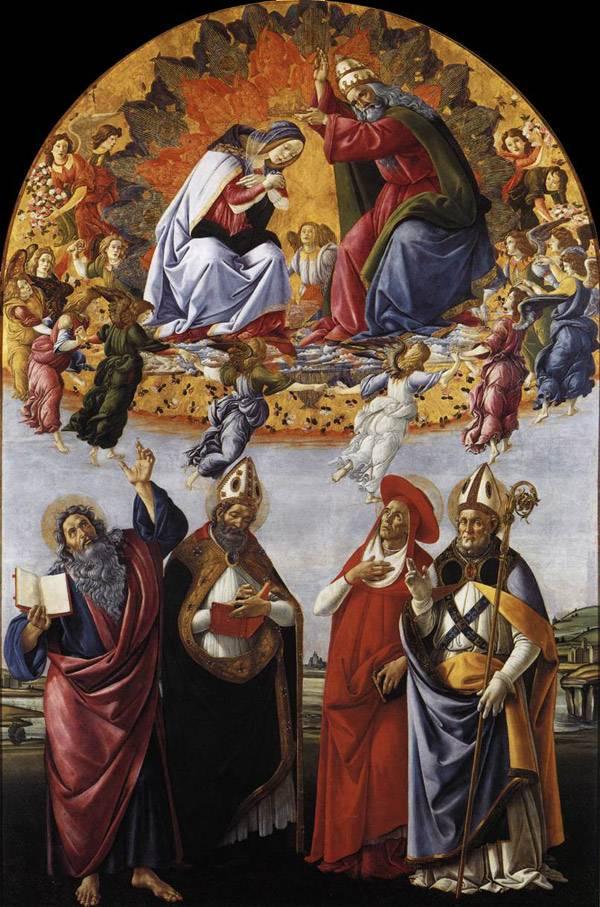 Картины сандро боттичелли botticelli