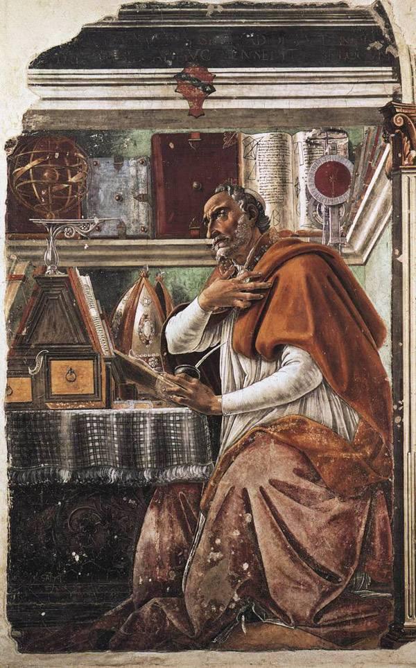 Боттичелли Св. Августин Блаженный
