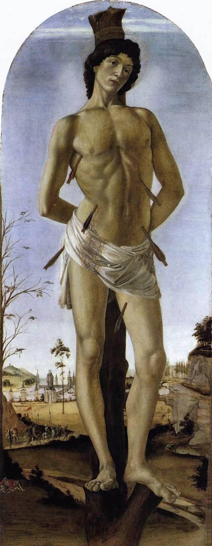 Сандро Боттичелли Святой Себастьян