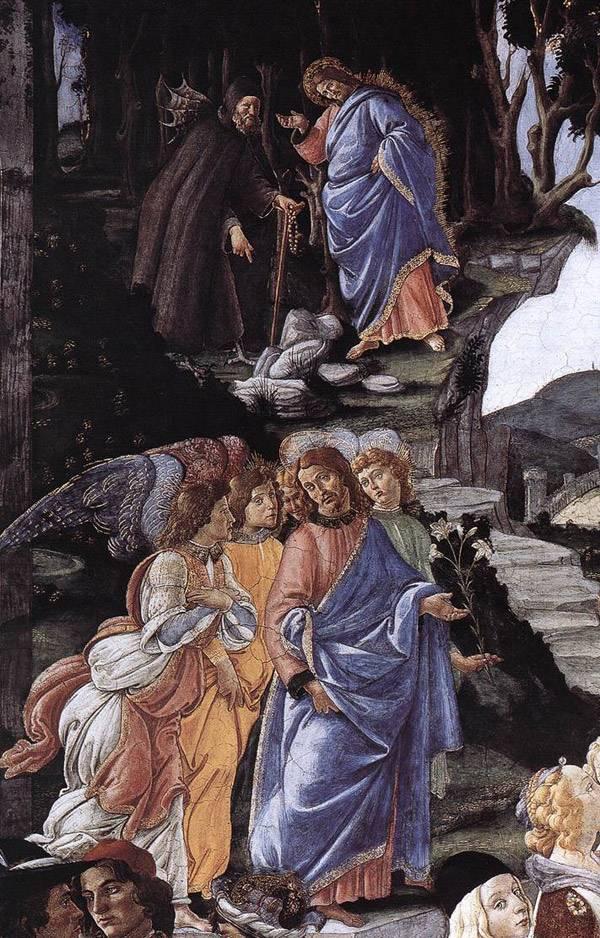 Три искушения Христа. Фрагмент