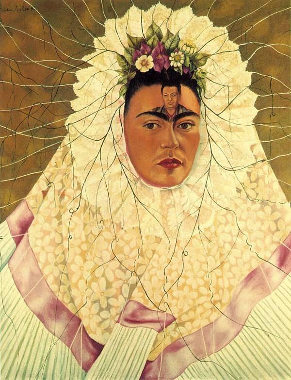 Кало Автопортрет (Диего в мыслях)