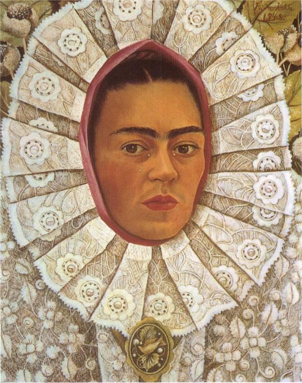 Автопортрет Фриды Кало