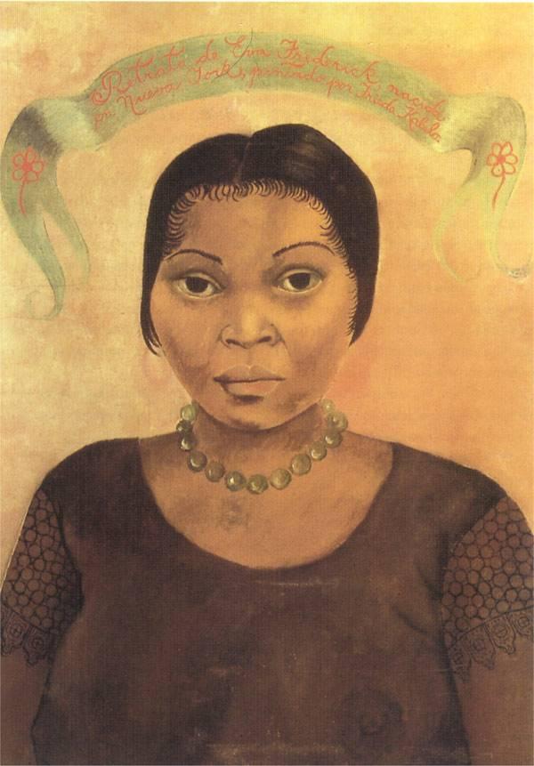 Portrait of Eva Frederick
