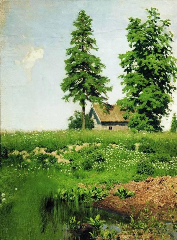 Картины левитана пейзажи