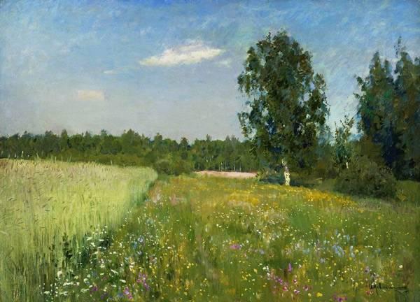 Июньский день лето 1890 е