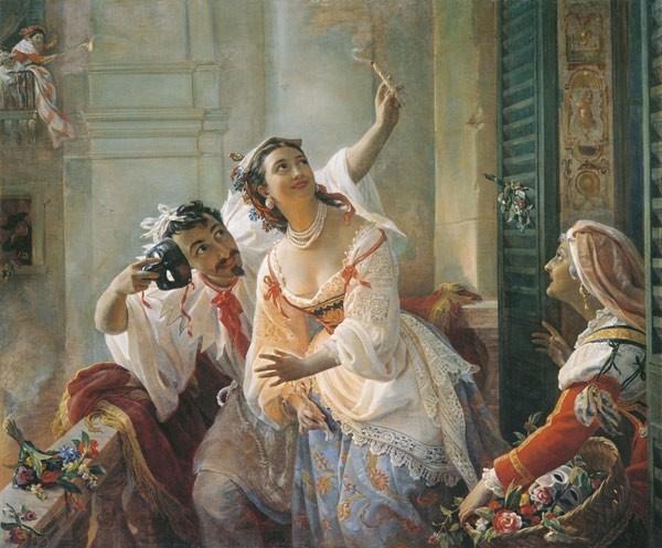 Сцена из римского карнавала Орлов