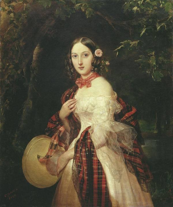 Портрет Марии Аркадьевны Бек