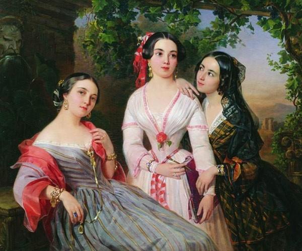 Групповой портрет сестер