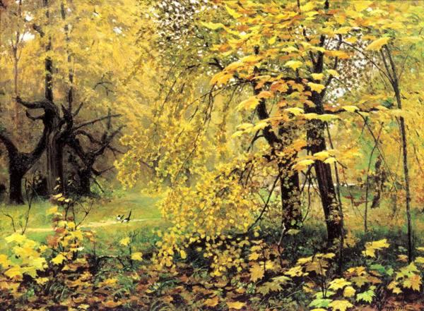 Русские пейзажи биография художника