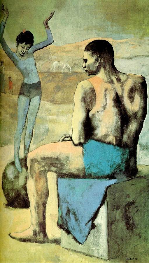Картины Пикассо: розовый период (Picasso): www.artcontext.info/pictures-of-great-artists/55-2010-12-14-08-01...