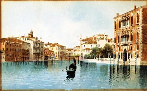 """Результат пошуку зображень за запитом """"Прекрасные Виды Венеции FEDERICO DEL CAMPO..."""""""