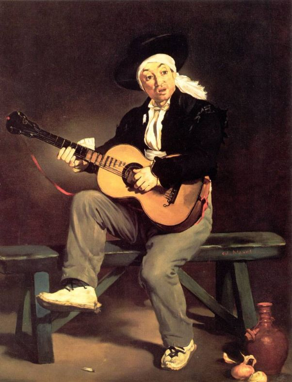 Гитарреро. Эдуард Мане