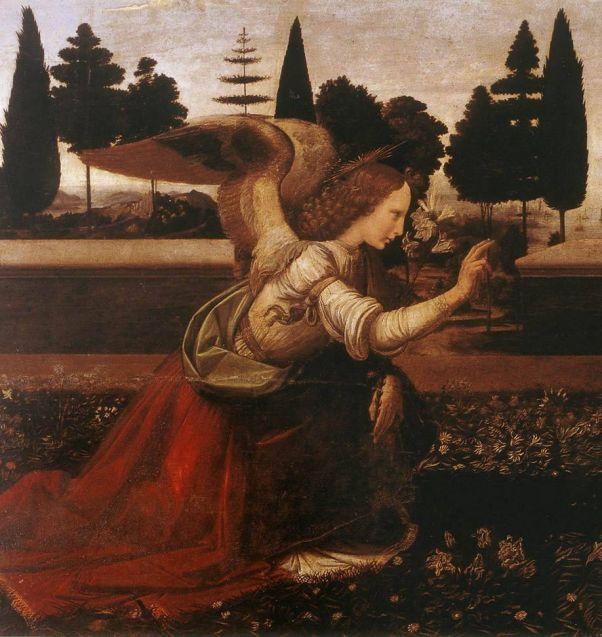 Фрагмент полотна Леонардо да Винчи