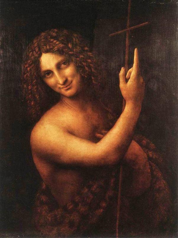 Иоанн Креститель. Леонардо да Винчи. 1515-1516
