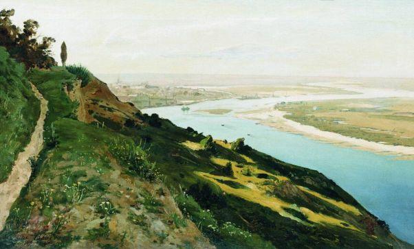 Окраины Киева. 1886