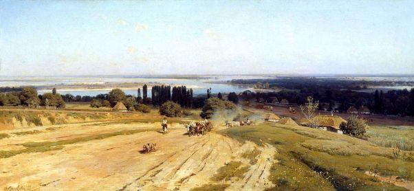 Вид на Украине. 1883