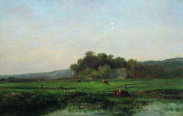 Пастбище. 1890