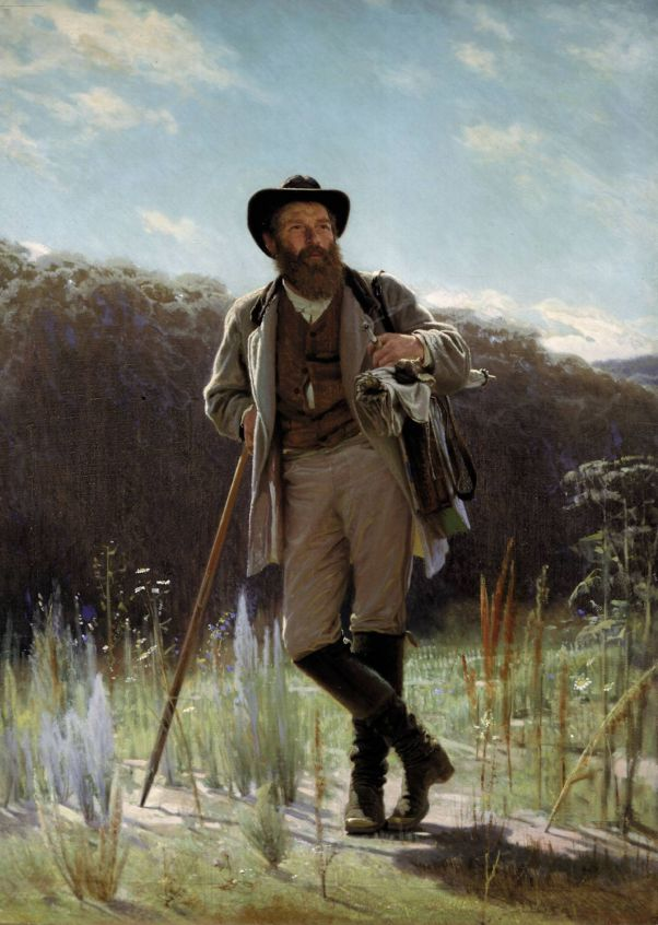 Портрет художника Ивана Шишкина.