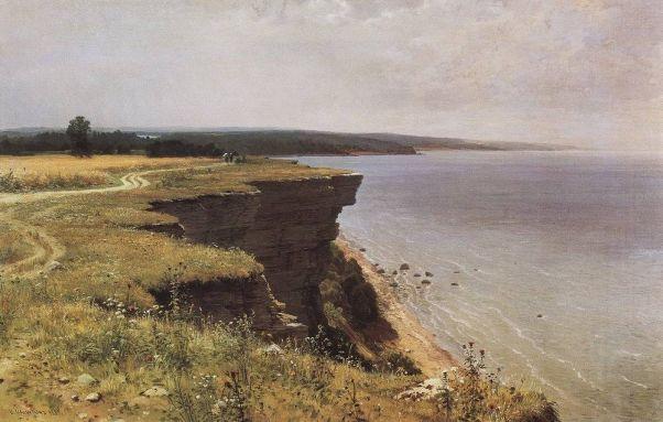 У берегов Финского залива(Удриас близ Нарвы) 1889