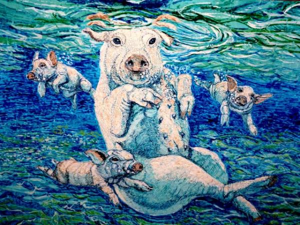 Семейнфй заплыв