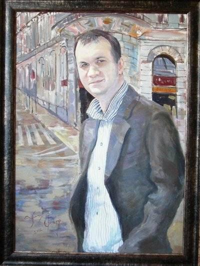 Портрет зрелого мужчины