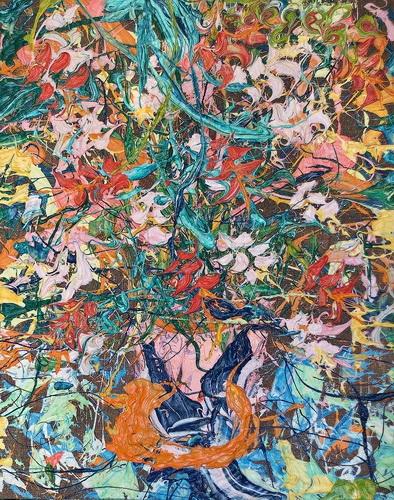 STILL LIFE PAINTING FLOWERS КАРТИНА НАТЮРМОРТ ЕКАТЕРИНА ЛЕБЕДЕВА ХУДОЖНИЦА