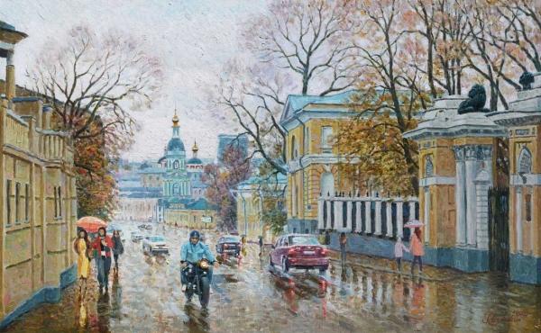 Люблю осеннюю Москву